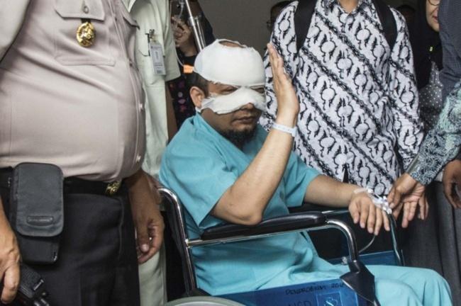 LAMPUNG POST | Kasus Teror Novel Belum Terungkap, KPK Tunggu Arahan Presiden