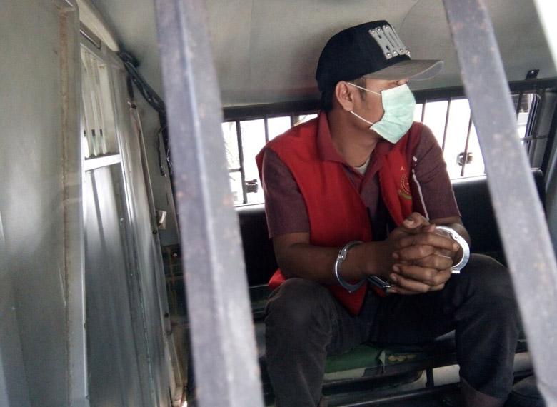 LAMPUNG POST   Buron 5 Bulan, Mantan Kakon Parerejo Ditangkap