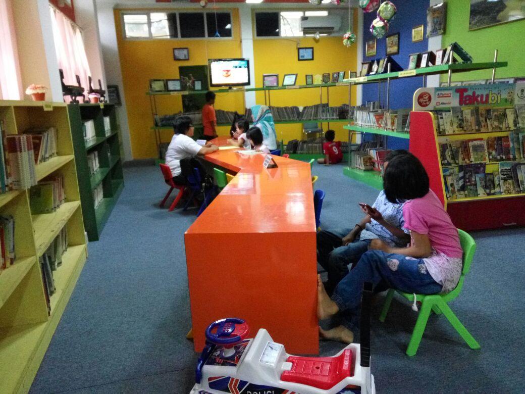 Liburan, Kunjungan Perpustakaan Lampung Turun