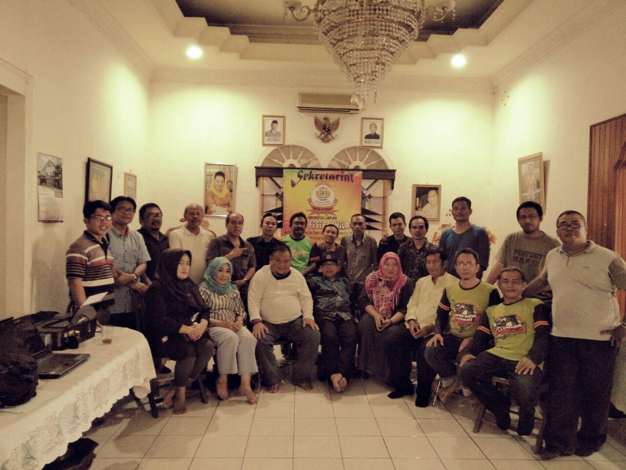 LAMPUNG POST | Ika FISIP Unila Gelar Mubes dan Kumpul Alumni