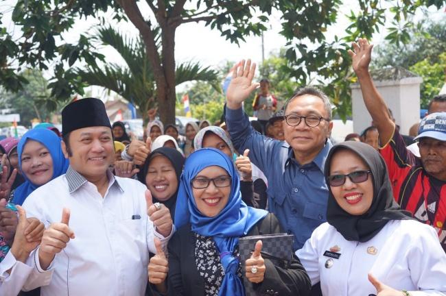 LAMPUNG POST   Ketua MPR Ajak Anak-anak di Lamsel Berani Punya Cita-cita Besar
