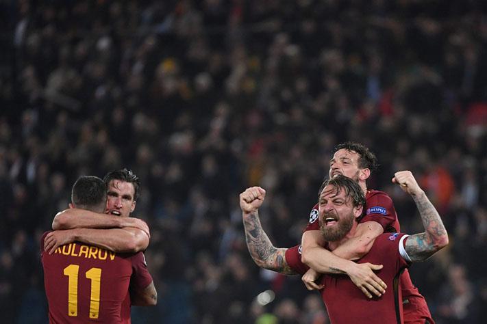 Mengejutkan! Roma Depak Barcelona dari Liga Champions