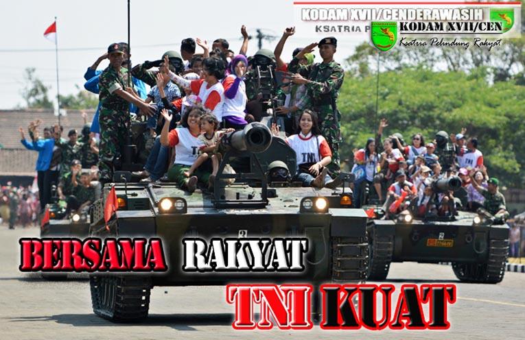 LAMPUNG POST | TNI Manunggal Bersama Rakyat
