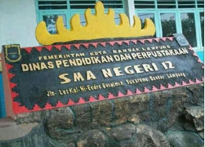 Empat Siswa Diterima di SMAN 12 Bandar Lampung Tidak Daftar Ulang