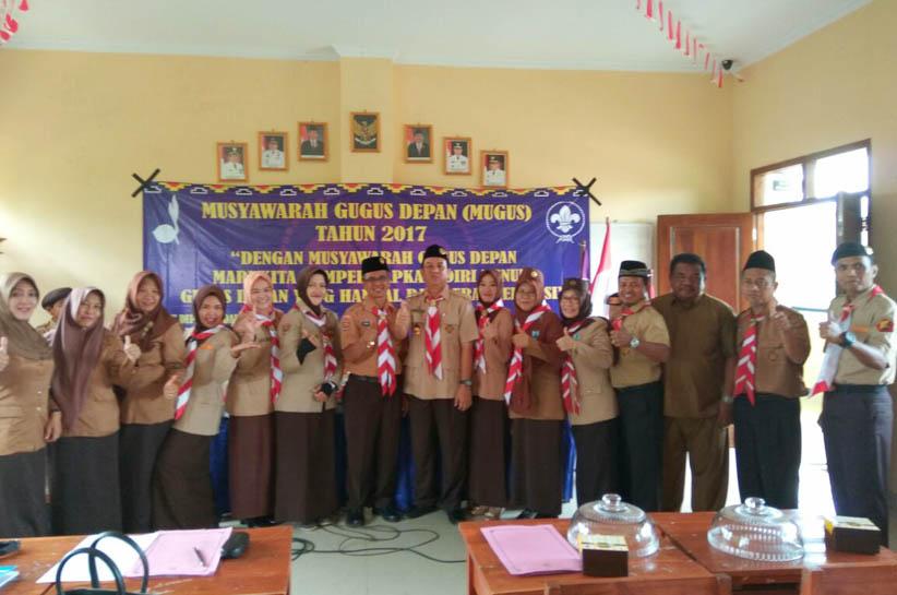 Pramuka SMPN 23 Bandar Lampung Gelar Musyawarah Gudep
