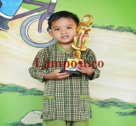 LAMPUNG POST   Fahmi Senang Membaca Alquran