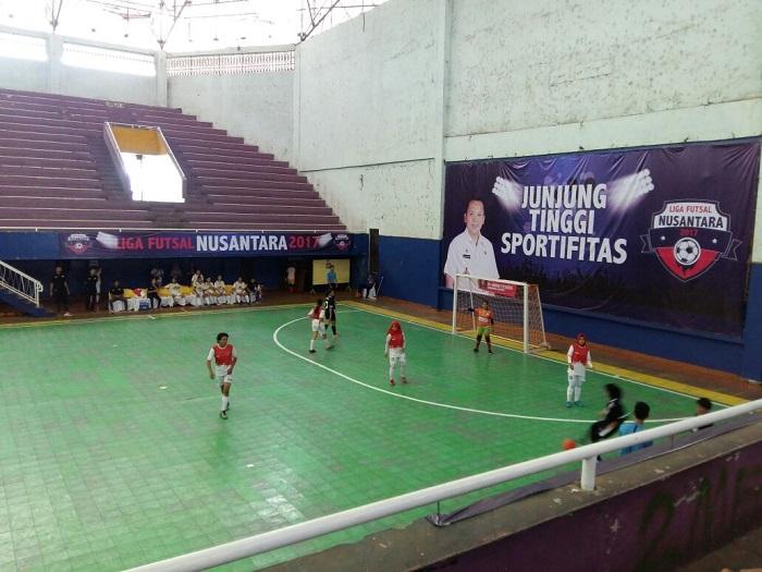 LAMPUNG POST   Liga Futsal Nusantara Mulai Bergulir