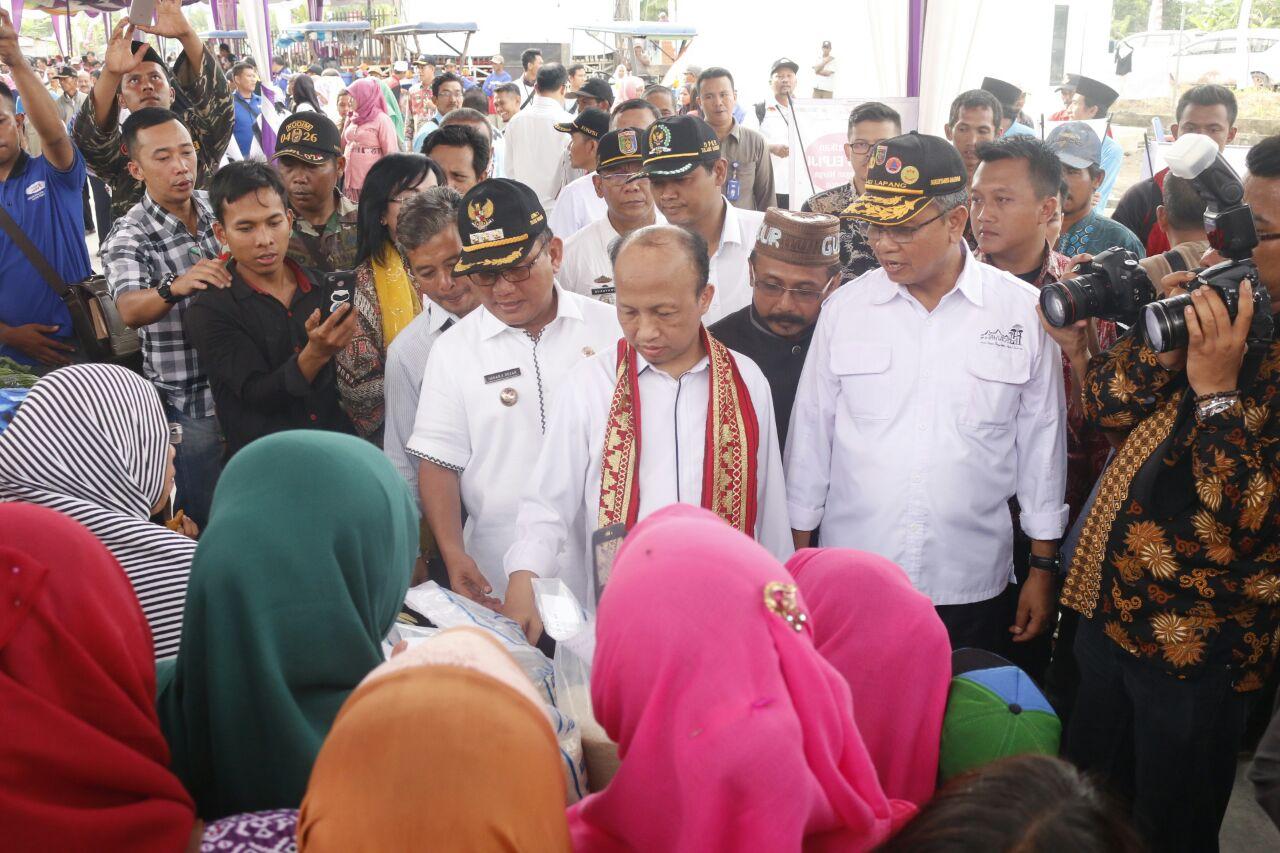 LAMPUNG POST | Kota Terpadu Mandiri Mesuji Dinilai Kemendes Terbaik di Indonesia
