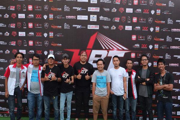 LAMPUNG POST | Komunitas Honda City Bandung Ramaikan Deklarasi HBT