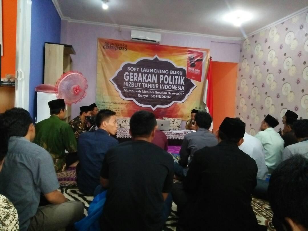 LAMPUNG POST | Buku Gerakan Politik HTI, Mampukah Menjadi Gerakan Dakwah, Diluncurkan