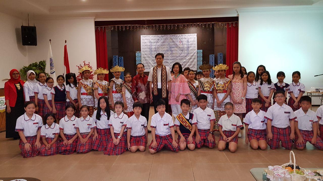 Konjen RRT Kunjungi Sekolah Pelita Bangsa