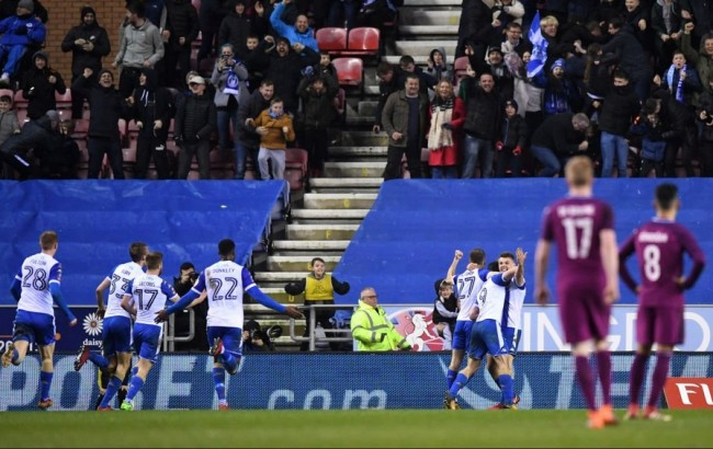 LAMPUNG POST | Kejutan, Wigan Depak City dari Piala FA