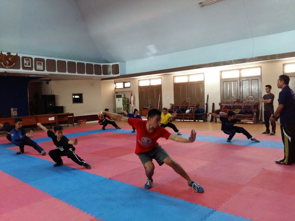 LAMPUNG POST | Progres Atlet Wushu Capai 90 Persen