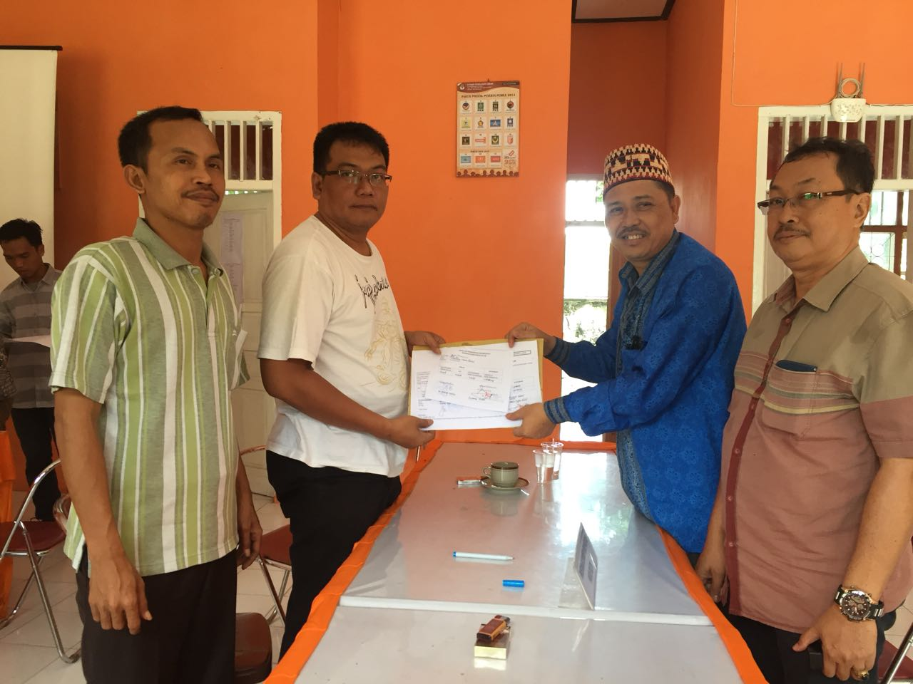 LAMPUNG POST | 13 Parpol di Lampung Selatan Memenuhi Syarat Jadi Peserta Pemilu 2019