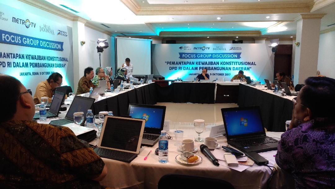 LAMPUNG POST | DPD RI Gelar FGD di Media Group