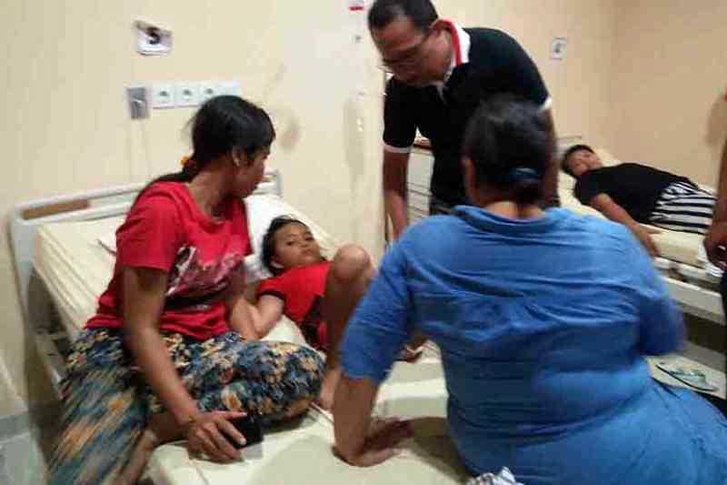 LAMPUNG POST | Puluhan Warga Cianjur Keracunan Nasi Kotak