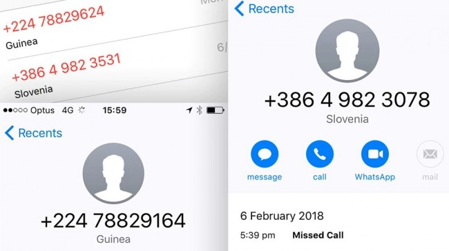 Mengenal Wangiri, Modus Penipuan Missed Call dari Luar Negeri