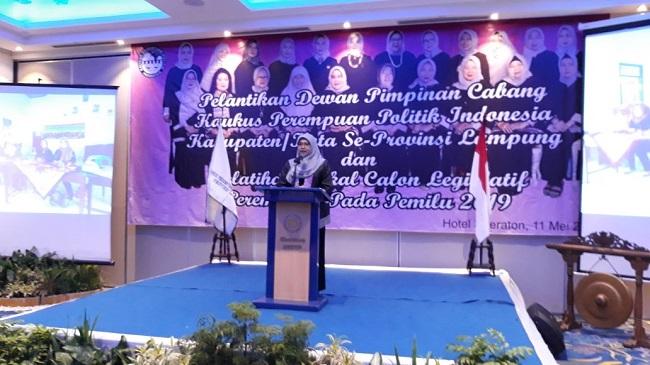 Optimalisasi Peran Perempuan Berjuang Duduk di Legislatif
