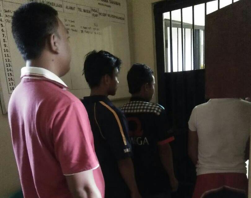 LAMPUNG POST | Pelaku Pencurian di Bengkel Motor Dibekuk Polisi