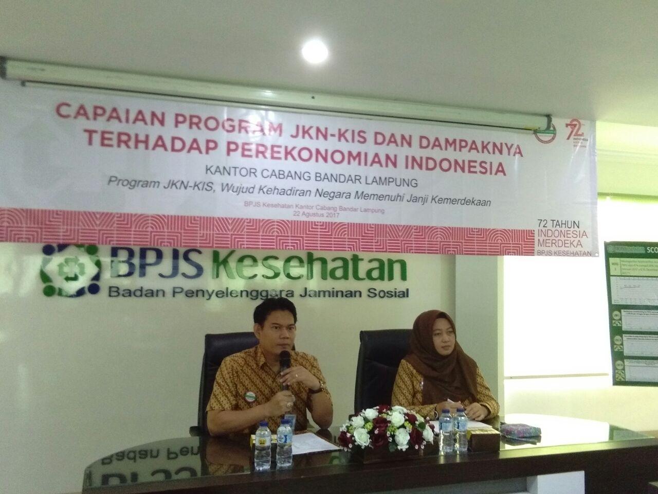 LAMPUNG POST | Peserta BPJS Kesehatan Cabang Bandar Lampung 2,3 Juta Jiwa