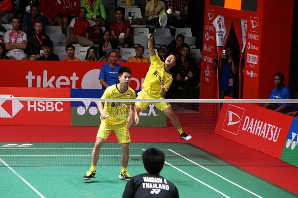 Kevin/Marcus Kandaskan Juara Thailand Masters