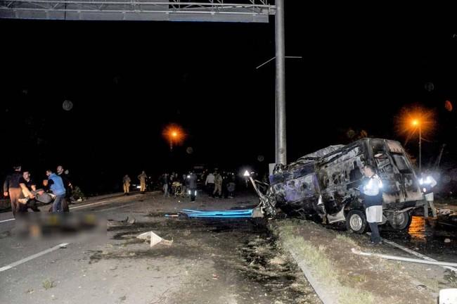 Bus yang Membawa Imigran Ilegal Kecelakaan di Turki, 17 Tewas