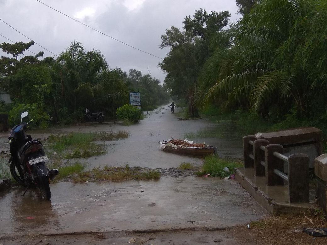 Diguyur Hujan, Banjir di Kampung Cabang Kian Meluas