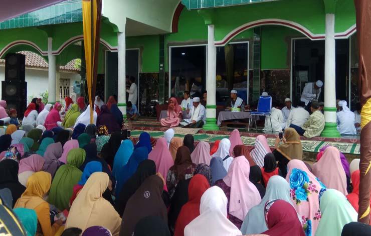 LAMPUNG POST | Warga Sukaraja Peringati Maulid Nabi Muhammad