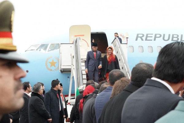 Presiden Jokowi Dianugerahi Medal of Ghazi Amanullah