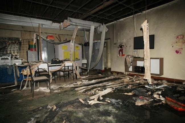 LAMPUNG POST | Satpam Bakar Tempat Penitipan Anak di Brasil, 4 Balita Tewas