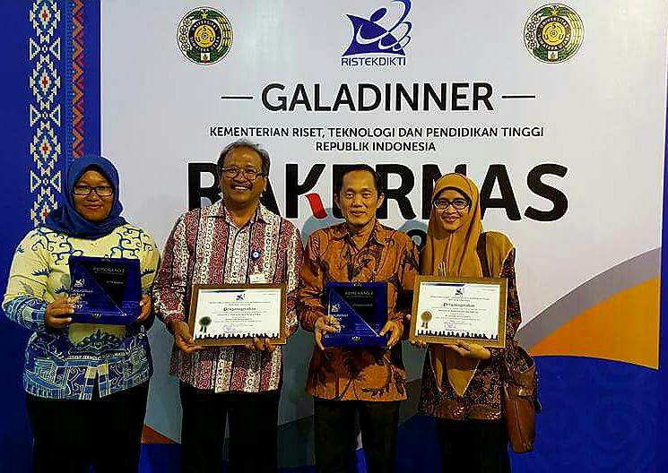 LAMPUNG POST | Itera Juara II Nasional Pengelolaan Media Sosial PTN