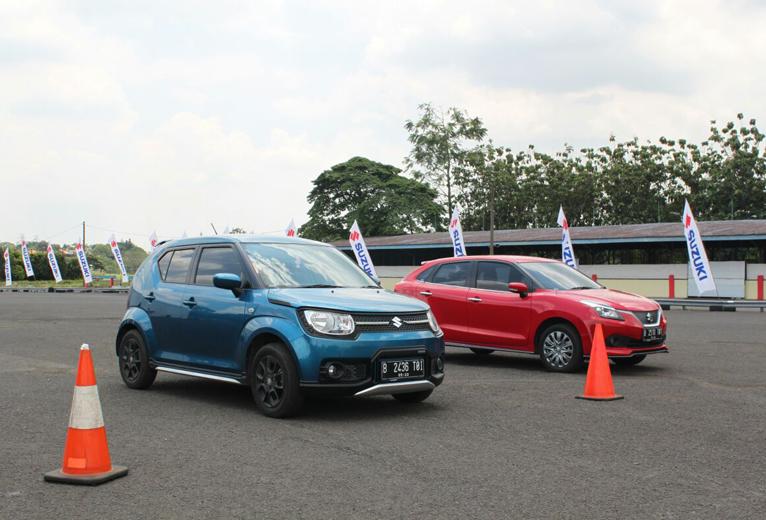 Suzuki Ajak Jurnalis Kampanyekan Safety Driving