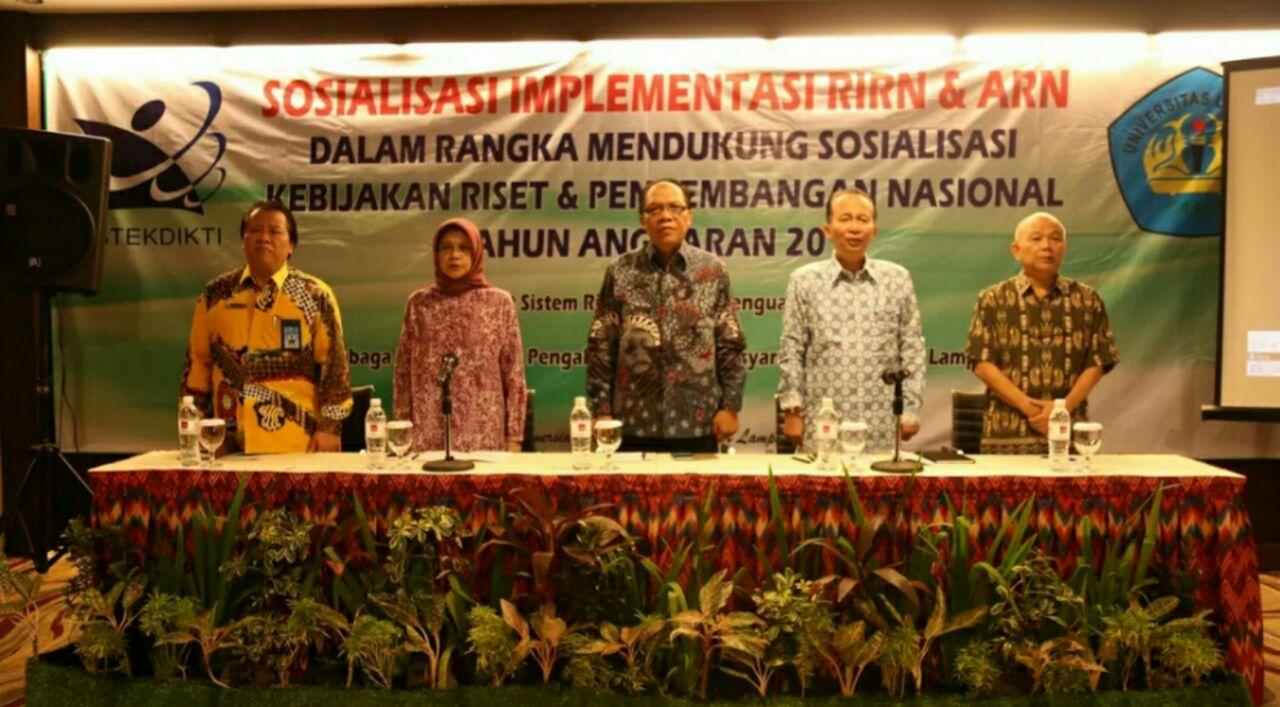 LAMPUNG POST | LPPM Unila Sosialisasi Implementasi Soal Riset Nasional