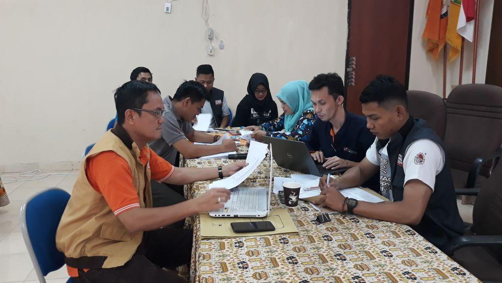 KPU Lampung Rekap Hasil Klarifikasi Penelitian Administrasi Syarat Dukungan DPD RI