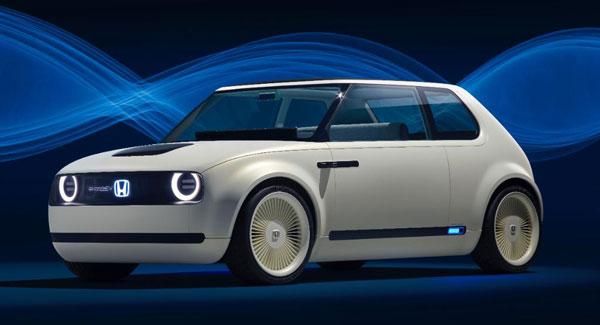 LAMPUNG POST | Honda Kenalkan Urban EV Concept