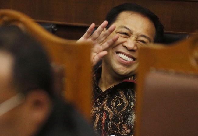 Novanto Sambut Baik Penunjukan Bamsoet Sebagai Ketua DPR