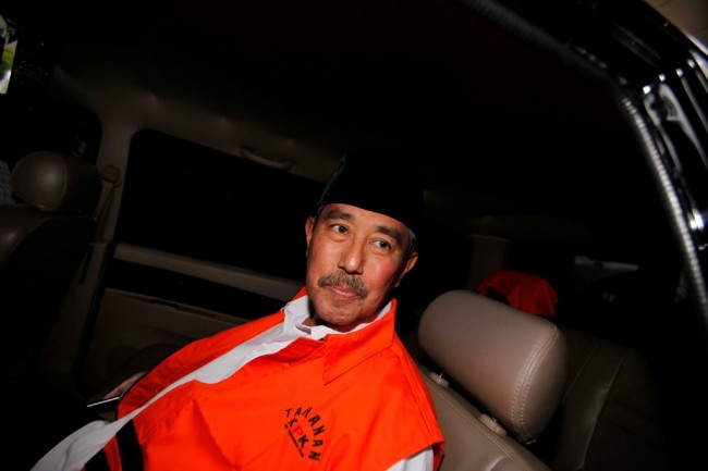 Bupati Bandung Barat Ditahan KPK