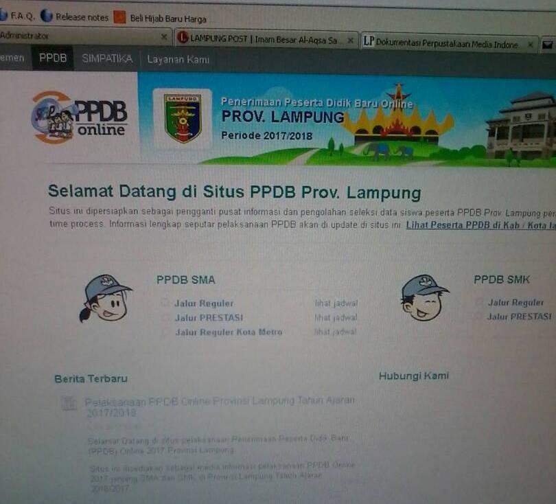 LAMPUNG POST | 3.282 Siswa Diterima di 9 SMKN Bandar Lampung