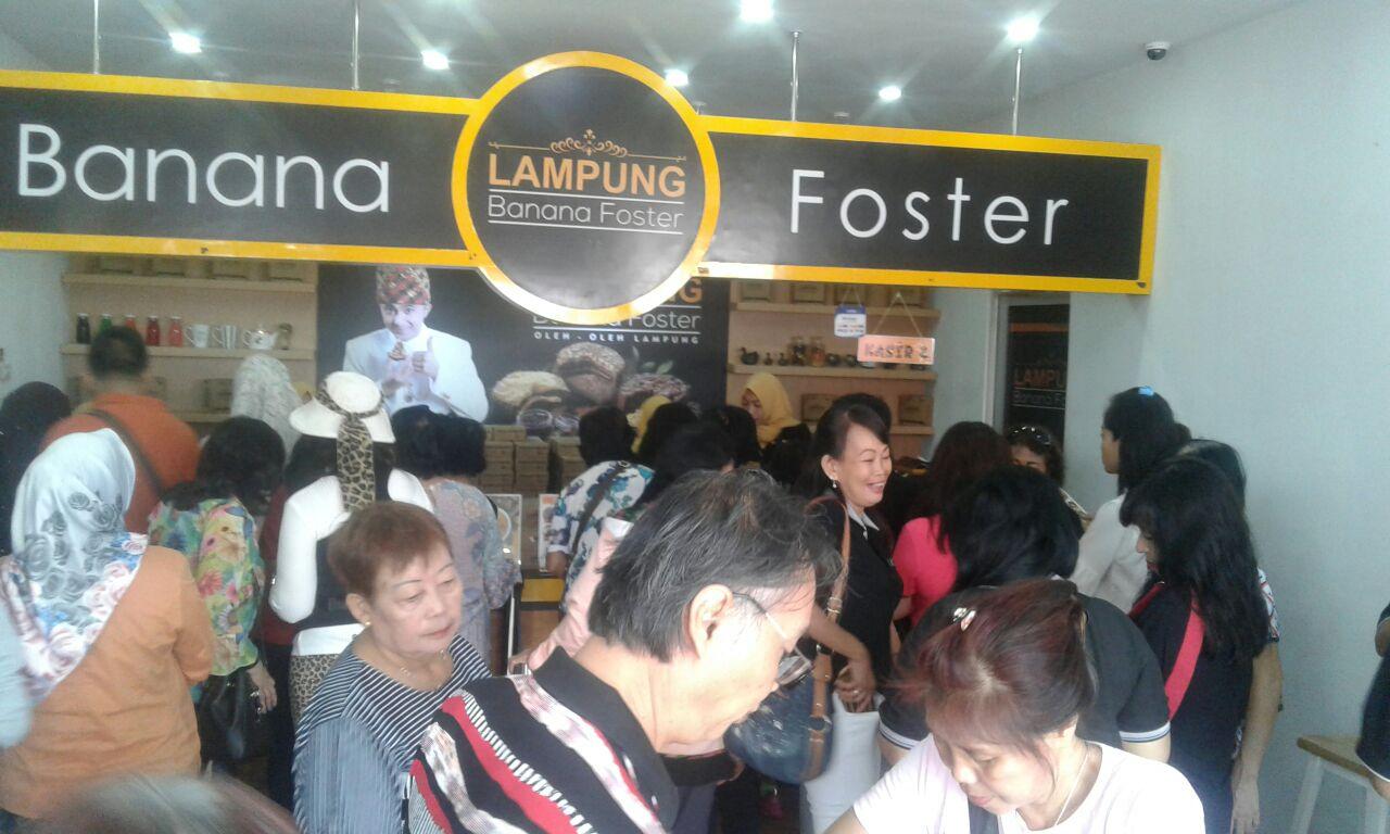 LAMPUNG POST | Banana Foster Lampung Resmikan Outlet di Kota Metro 29 Oktober