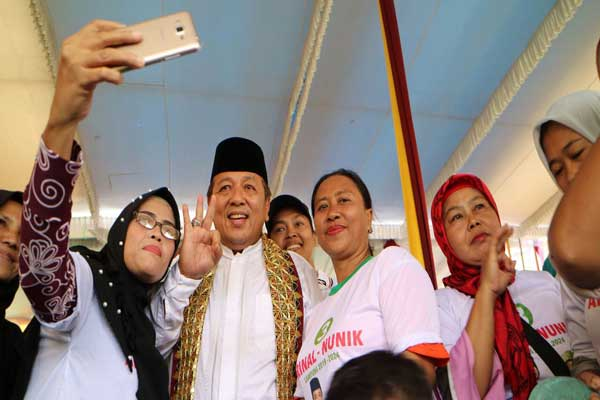 Arinal Nunik Komitmen Bangun Pertanian Lampung