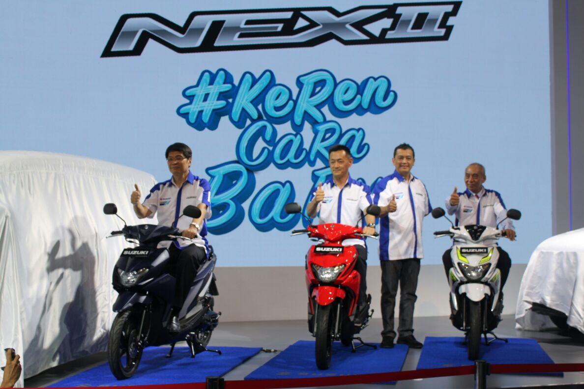 LAMPUNG POST | Suzuki Luncurkan Nex II di IIMS 2018