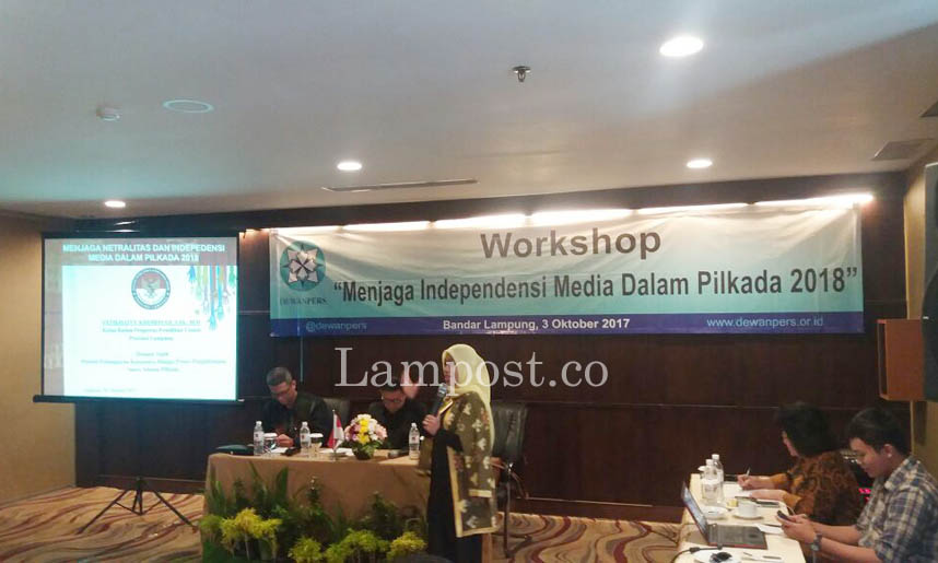 LAMPUNG POST   Jaga Independensi Media di Pilkada 2018