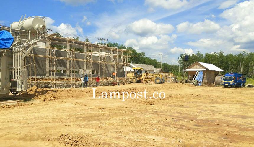 LAMPUNG POST | Pembangunan GI Mesuji Ditargetkan Rampung Oktober 2017
