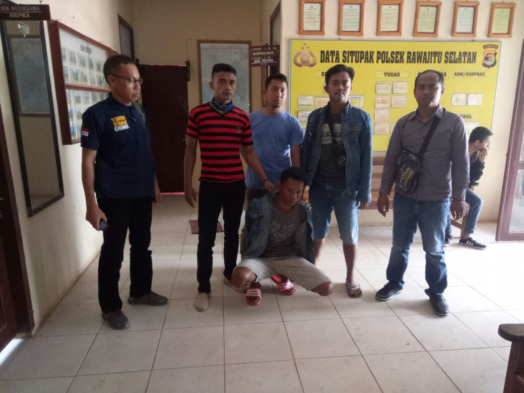 LAMPUNG POST | Pelaku Pencurian Motor Ditangkap Polsek Penawartama