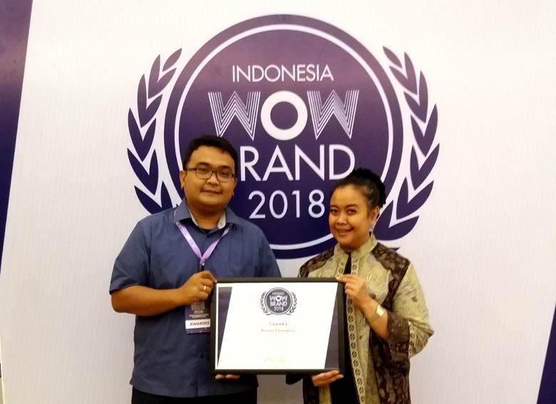 LAMPUNG POST | Suzuki Raih Penghargaan WOW Brand 2018