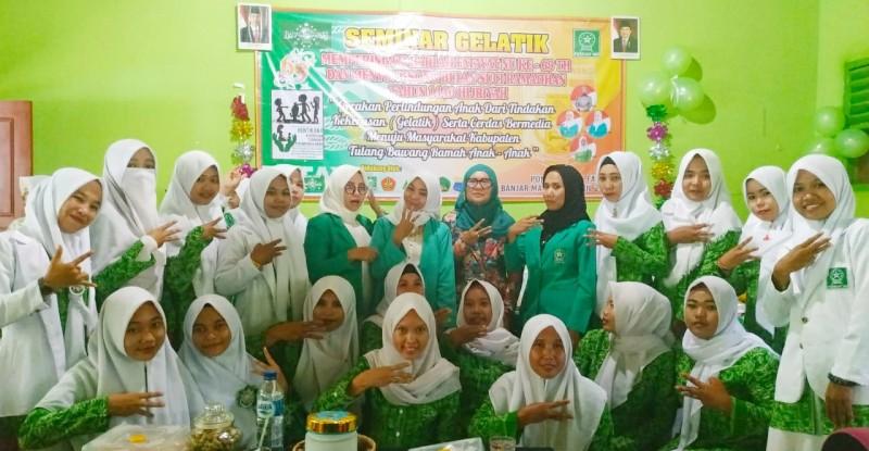 Fatayat NU Tulangbawang Ingatkan Bahaya Kekerasan Terhadap Anak melalui Agenda Seminar
