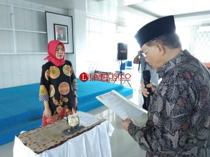 Faurani Jabat Pjs Rektor Universitas Saburai