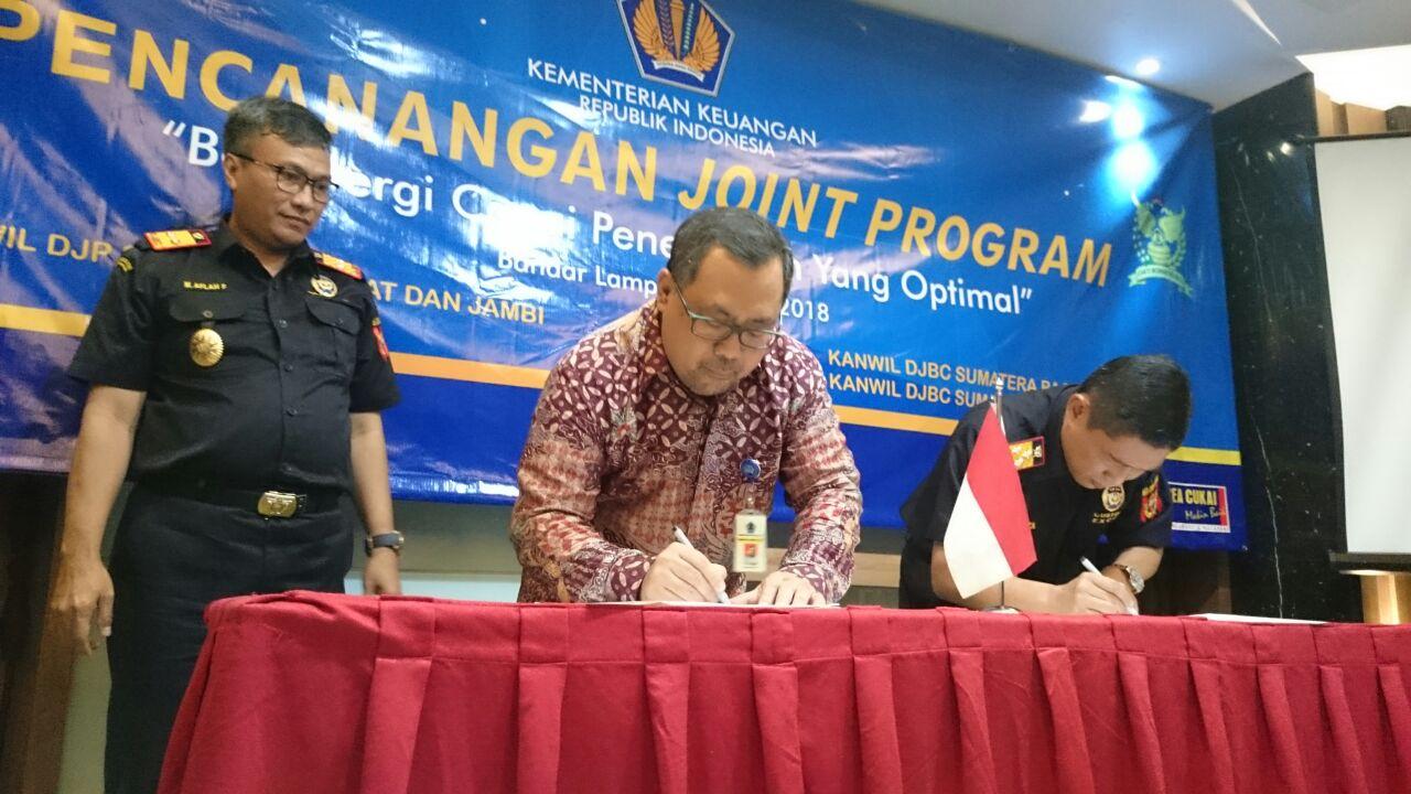 Joint Program Perkuat Sinergitas antara DJP dan DJBC