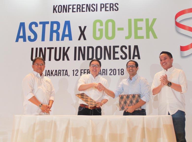 Astra International Gelontorkan Rp2 Triliun di Go-Jek
