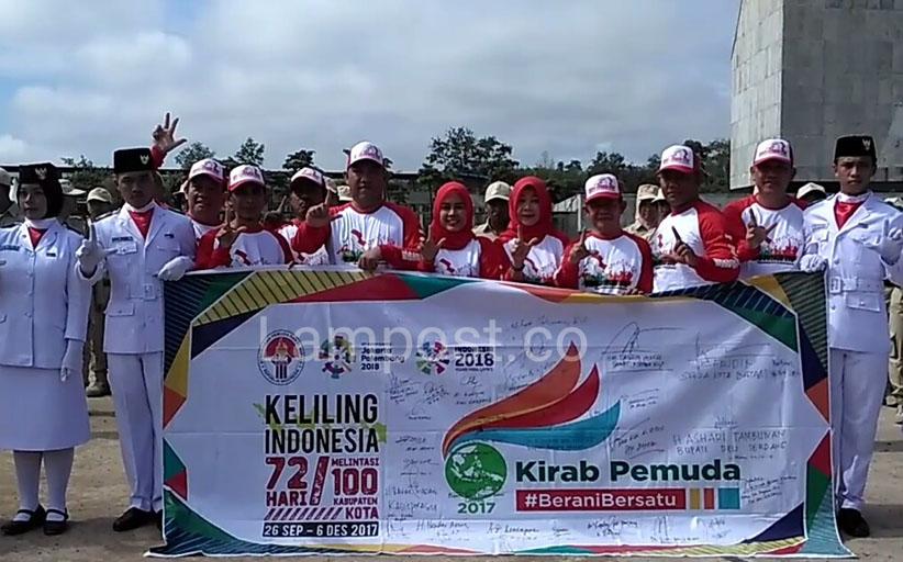 LAMPUNG POST | Tubaba Jadi Destinasi Kirab Pemuda Nusantara 2017
